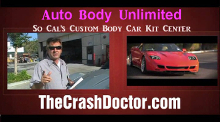 Custom Car Body kits at discount prices including high quality polyurethane parts self installed or The Crash Doctor Painted and installed from www.thecrashdoctor.com photo